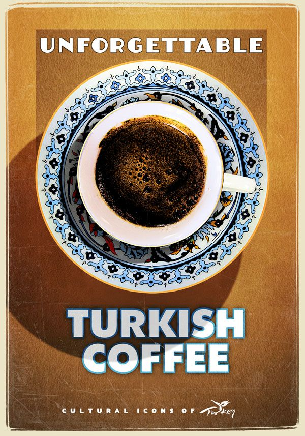 Turkish Coffee is brilliant as is this poster by the extremely talented Emrah Yucel!