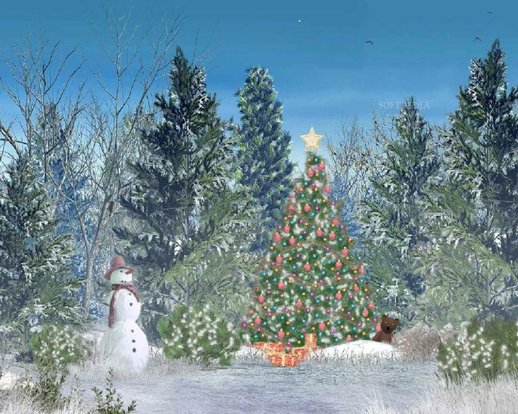 Moving Christmas Wallpaper Animated Christmas Wallpaper
