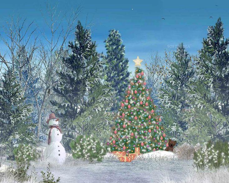 Moving Christmas Wallpaper Animated Christmas Wallpaper