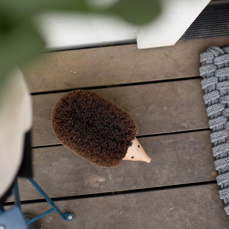 Hedgehog Shoe Cleaner