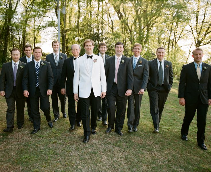 Love The White Dinner Jacket For Groom But Would Want A Uniformed Suit