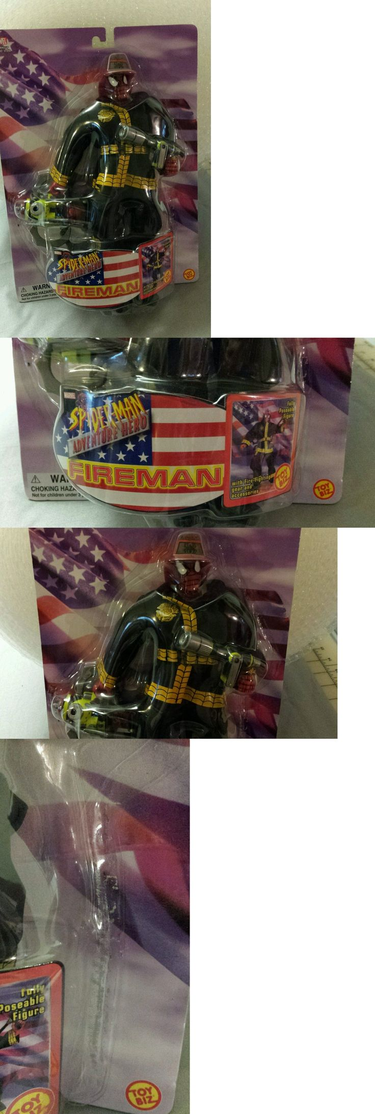 Spider-Man 146094: New Toy Biz 11 Marvel Spiderman Adventure Hero Fireman 2002 Great Condition! -> BUY IT NOW ONLY: $60.99 on eBay!