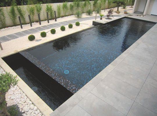 Piscine de r ve couloir de nage piscine d bordement - Largeur couloir maison ...
