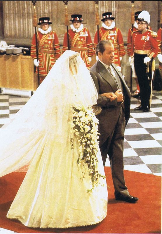 July 29, 1981: Lady Diana Spencer marries Prince Charles at St. Paul's Cathedral.