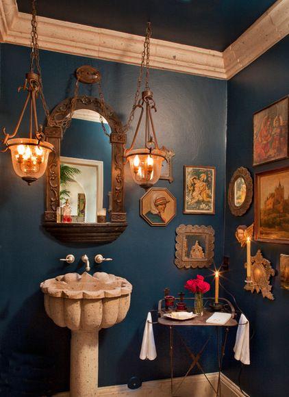 Best 25 mediterranean bathroom ideas on pinterest for Spanish colonial bathroom design