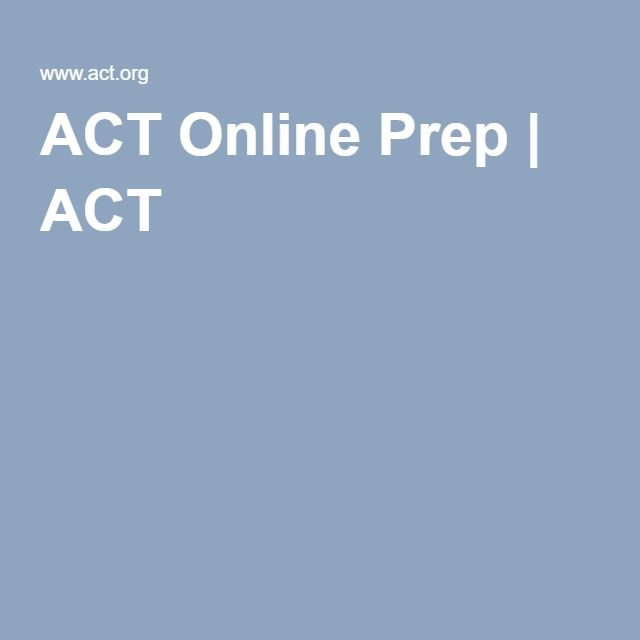ACT Online Prep | ACT