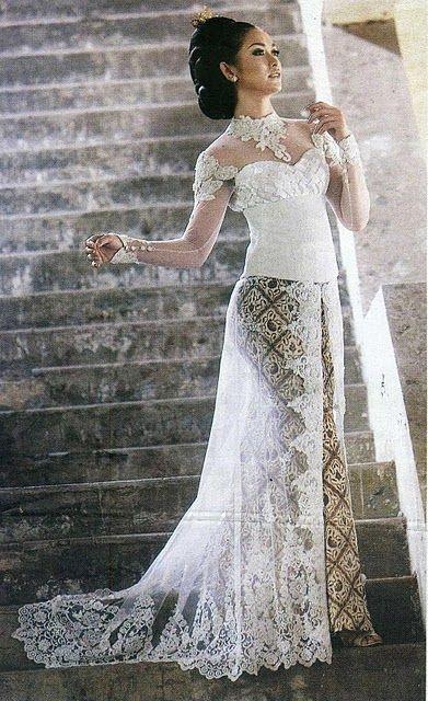 kebaya for wedding <3
