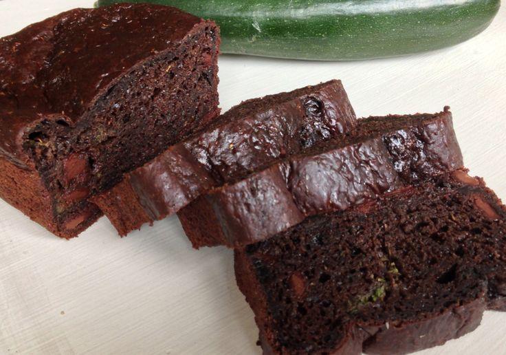 Chocolate zuchinni bread