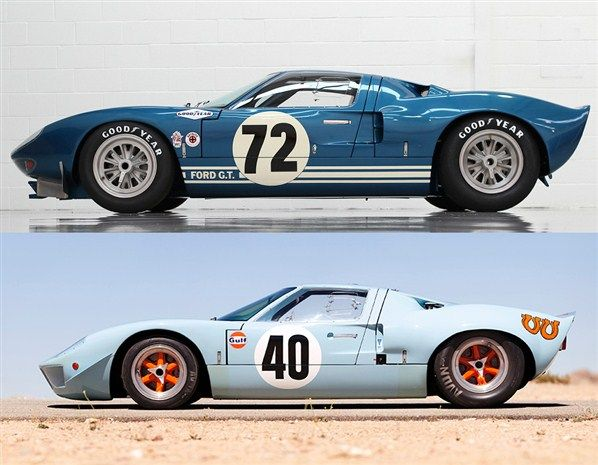 Ford Gt Ford Gt Mirage M