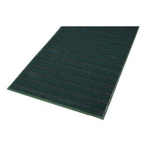 Entrance Mat, Brown, 3/8 In, 3 x 60 ft by Notrax. $1175.52. Entrance Mat, Heavy Traffic, Material Decalon Yarn, Vinyl (Backing), Color Brown, 60 ft. Length, 3 ft. Width, 3/8 In. Thickness, Backing Heavyweight Vinyl Non-Slip, Design High-Low Wave, Construction Alternating Drying Yarn And Yarn Wrapped With A Tough Mono-Filament For Ultra-Aggressive Scraping, Wave Pattern Runs Across Mat And Against Foot Traffic, High Moisture Absorption And Crush Resistance