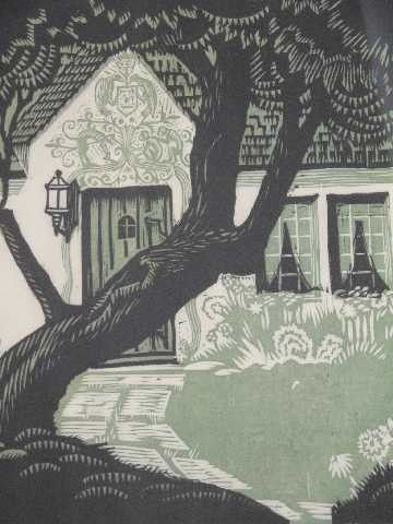 Charles Turzak Woodcut ArtPattern ArtWoodblock PrintColor PrintWood