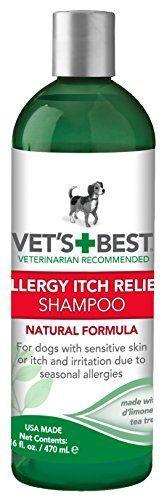 Vet's Best Allergy Itch Relief Dog Shampoo, 16 oz | MyPointSaver