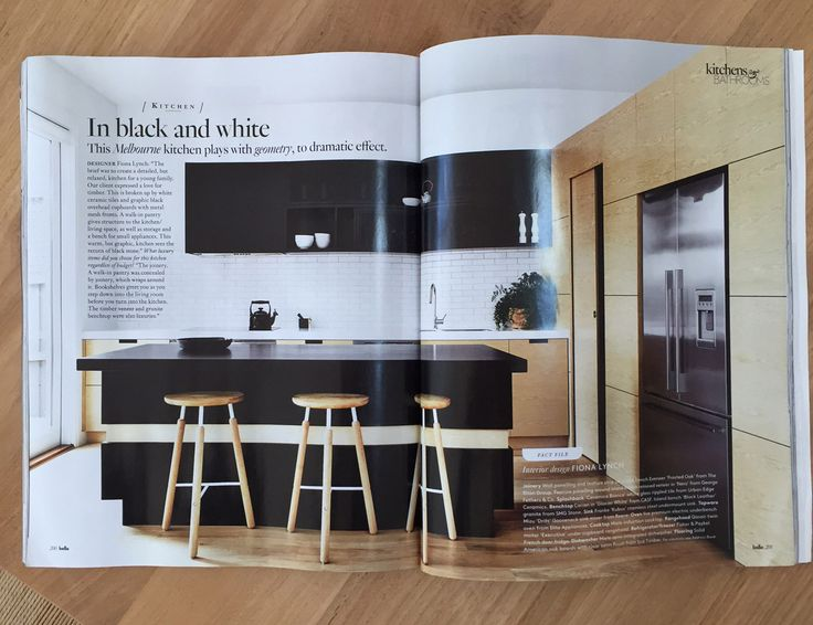 Belle March 2015 Featured Peate Street Residence Kitchen And Bathroom