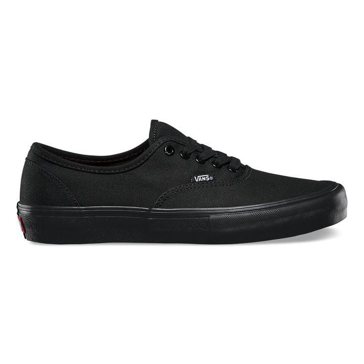 Vans Authentic Pro Shoes - Black/Black