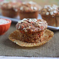 Hearty Spiced Carrot Muffins from Kitchen Treaty blog http://www.kitchentreaty.com/hearty-spiced-carrot-muffins/