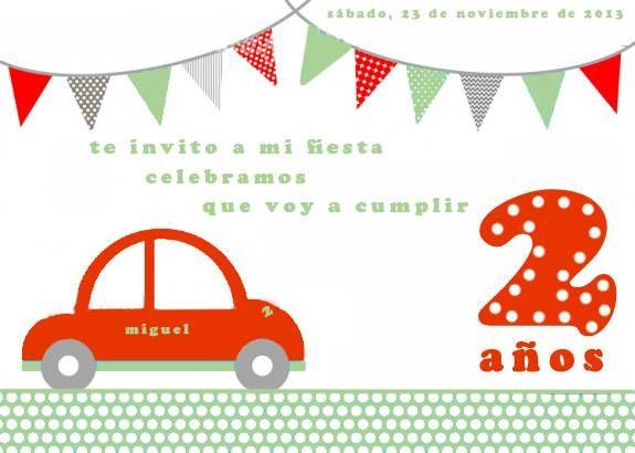 Invitación Miguel