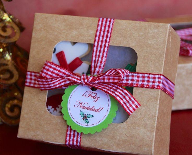 Caja surtido galletas de Navidad