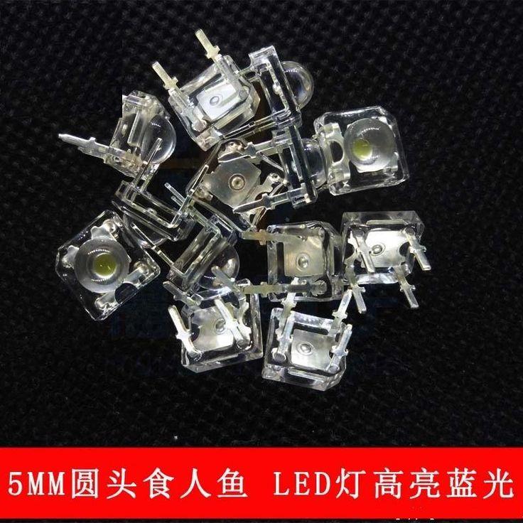 1000pcs/lot  LED 5mm super bright white hair  LED light