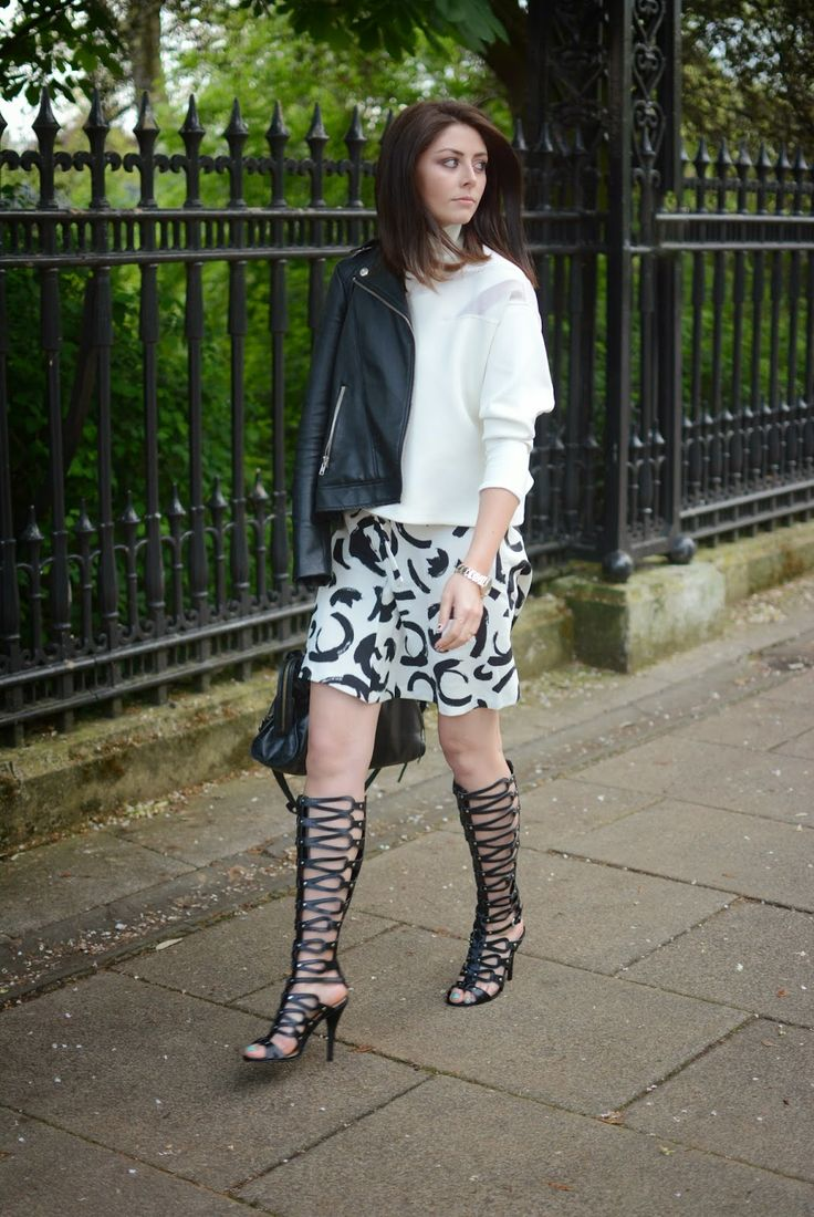 How To Style Gladiator Heels