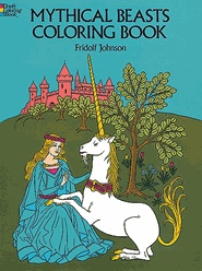 Mythical Creatures coloring book by DoverPresents Ideas, Parties Plans, Beast Colors, King Arthur Party Knights, Colors Book, Birthday Parties, Mythical Beast, Creatures Colors, Mythical Creatures