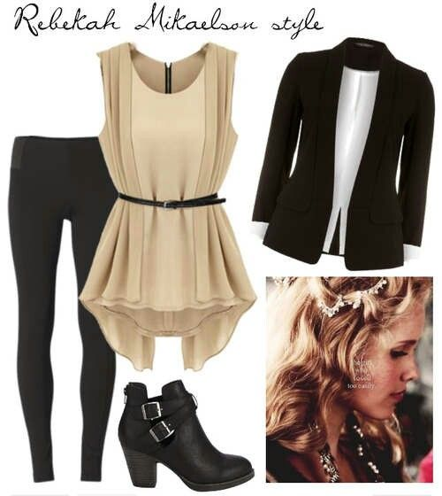Rebekah Mikaelson Style