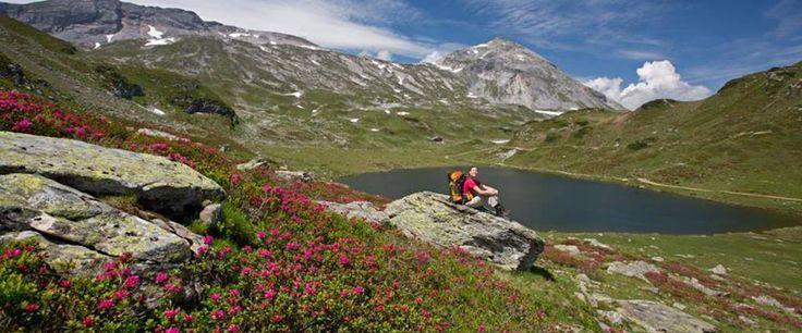 """Weitwanderangebot """"7 Tage Schladminger Tauern Höhenweg"""" ab € 319,- pro Person. http://www.weitwanderwege.com/angebote/7-tage-schladminger-tauern-hohenweg-weitwandern/ Kostenlose Prospekte: http://www.weitwanderwege.com/wege/schladminger-hoehenweg/?anfrage (c) Herbert Raffalt"""