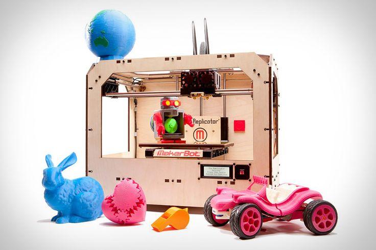 Makerbot replicator: 3D Printer, Gadgets, Toys, Makerbot Replic, 3Dprinter, 3D Prints, Makerbot 3D, Tech, Products