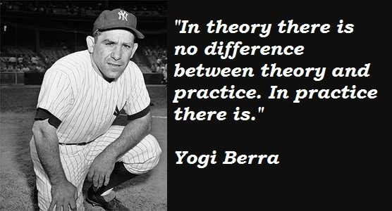 Famous Quotes About Practice: 25+ Best Yogi Berra Quotes On Pinterest