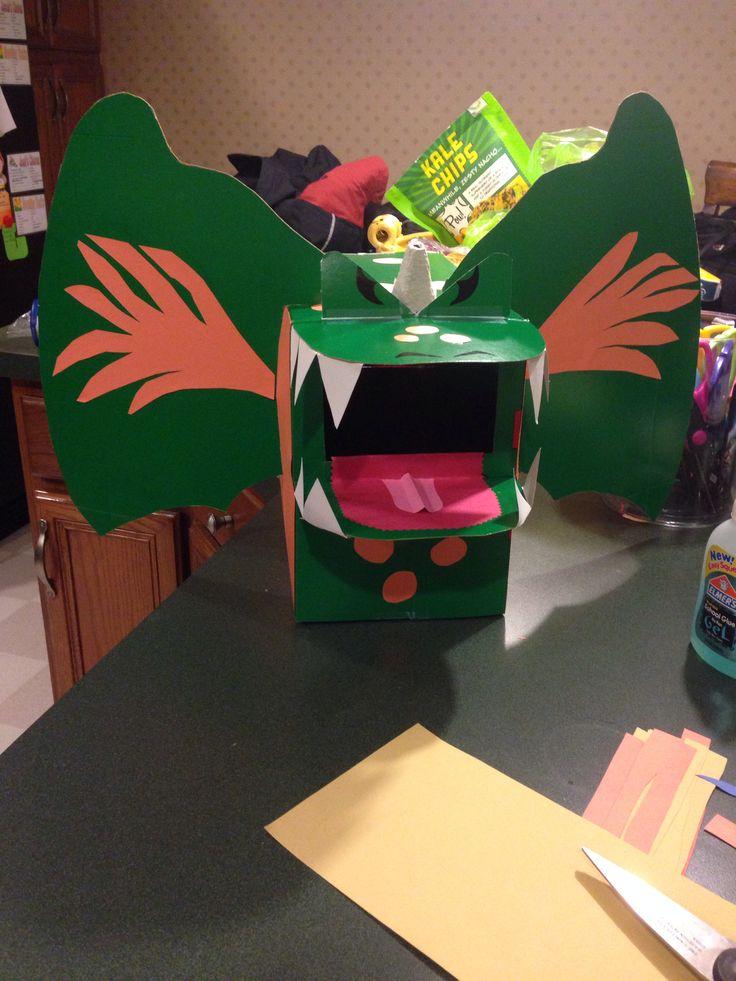 Dragon Valentines Day Box Valentines Day Box Ideas