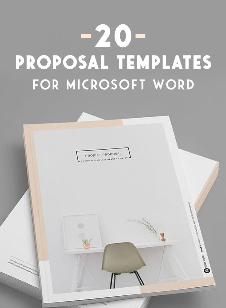20 Creative Business Proposal Templates You Wonu0027t Believe Are - microsoft word proposal templates