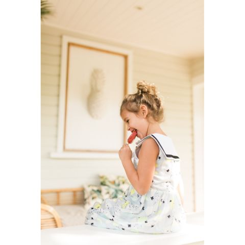 Minouche_Olivia dress - flight print - The Child Hood