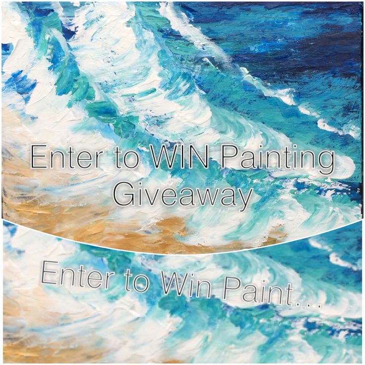 Enter to win this original painting on my Instagram page DinasOilPaintings