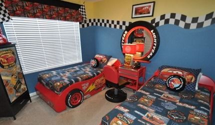 Do you have a CARS fan in the family. They'll love this themed room at Ultimate Luxury in Windsor Hills | Direct Villas Florida ID 1599