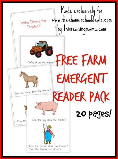 @Jenna Besancenez Alt -Free Farm Emergent Reader Pack  This made me think of Andrew