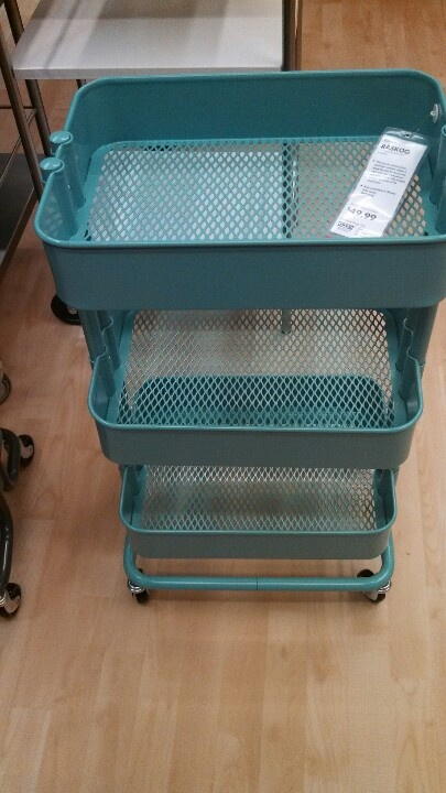 rolling craft cart ikea for the home pinterest