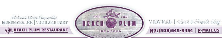 The Beach Plum Inn & Food, Martha's Vineyard - Press