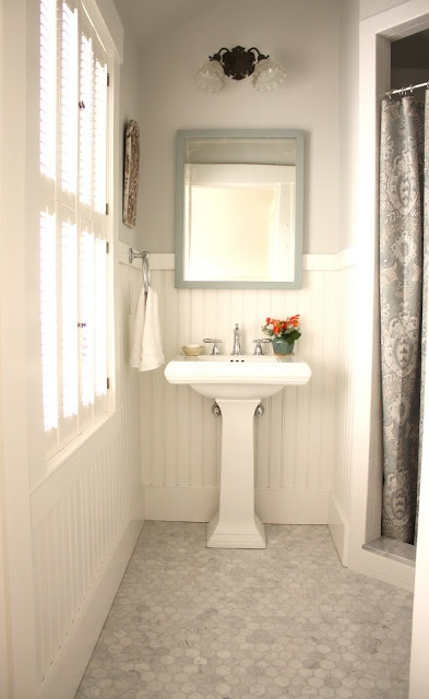 For The Love Of A House The Guest Bath Love The Honed