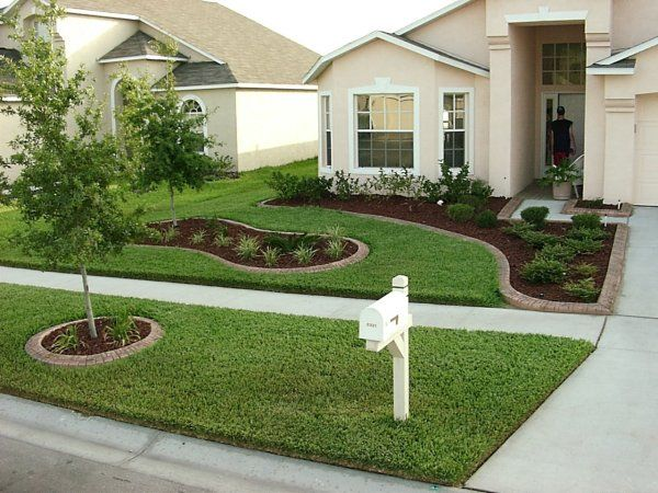front lawn idea: Front Gardens, Frontyard, Gardens Design Ideas, Front Yards, Flowers Beds, Small Front Yard, Landscape Ideas, Front Yard Landscape, Yard Ideas