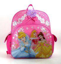 "Disney Princess Small Toddler 12"""" Backpack Book Bag Pack - Royal"