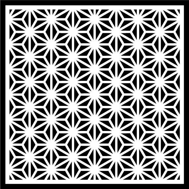 Pin em Geometric, abstract stencils, patterns