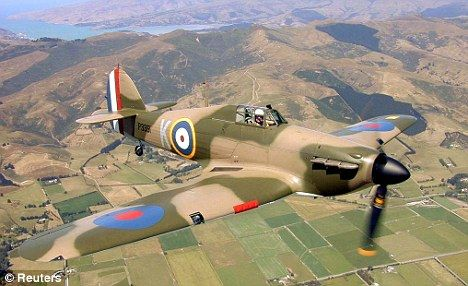Old Fighter Planes | Old reliable: This restored Hawker Hurricane shows the classic fighter ...