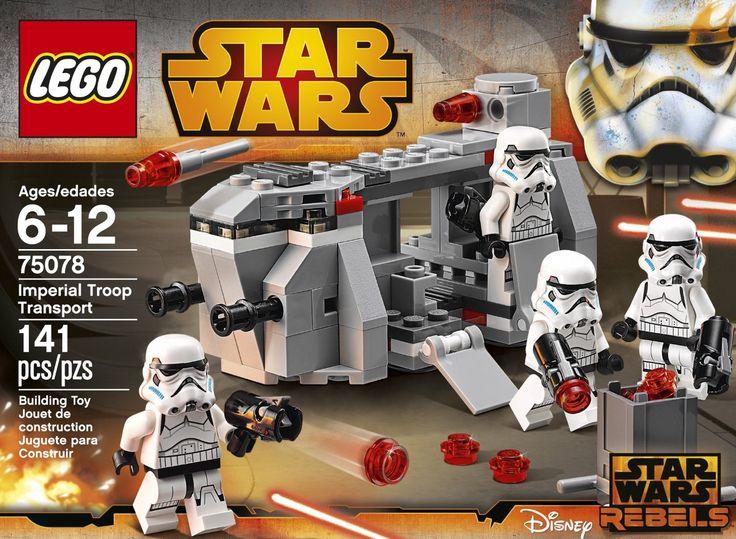 LEGO Star Wars Rebels 75078 Imperial Troop Transport   My ...