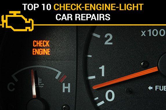 Top 10 Check-Engine-Light Car Repairs #checkengine #light #auto #repairs #insurance