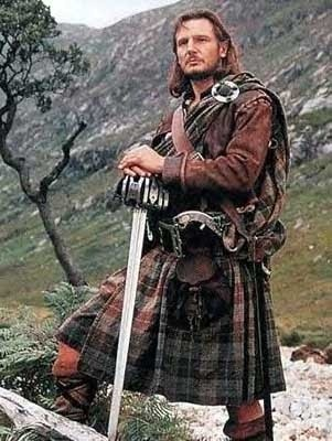 I flippin' love men in kilts....including Liam Neeson!  I must focus.  I can't remember why I'm here.