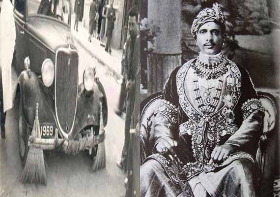 Indian King Used Rolls Royce To Collect Garbage As A Revenge