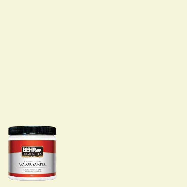 8 oz. #PPL-10 Warm Sun Zero VOC Interior/Exterior Paint Sample