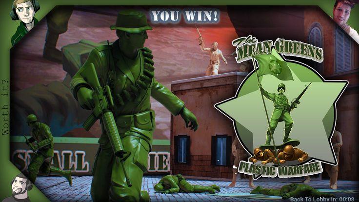 The Mean Greens - Plastic Warfare, Worth it! ...?