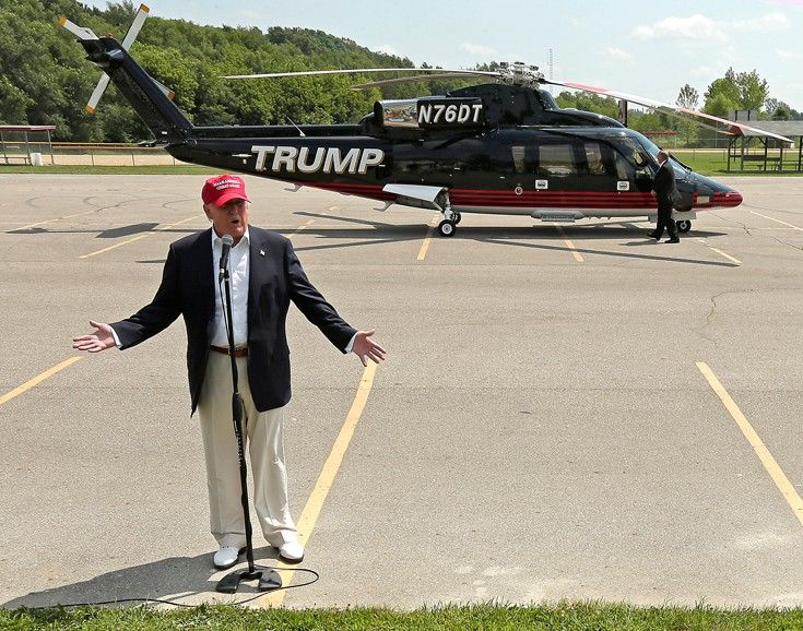 Image result for donald trump helicopter crash