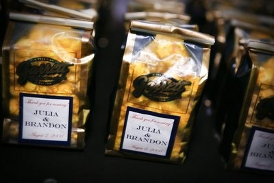 Chicago wedding and Favors