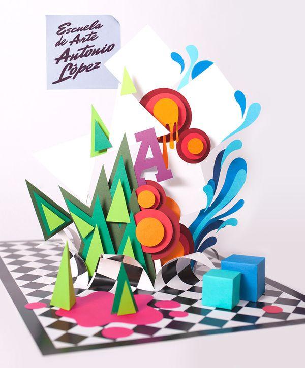Folleto poster // E. A. Antonio López by Versátil , via Behance